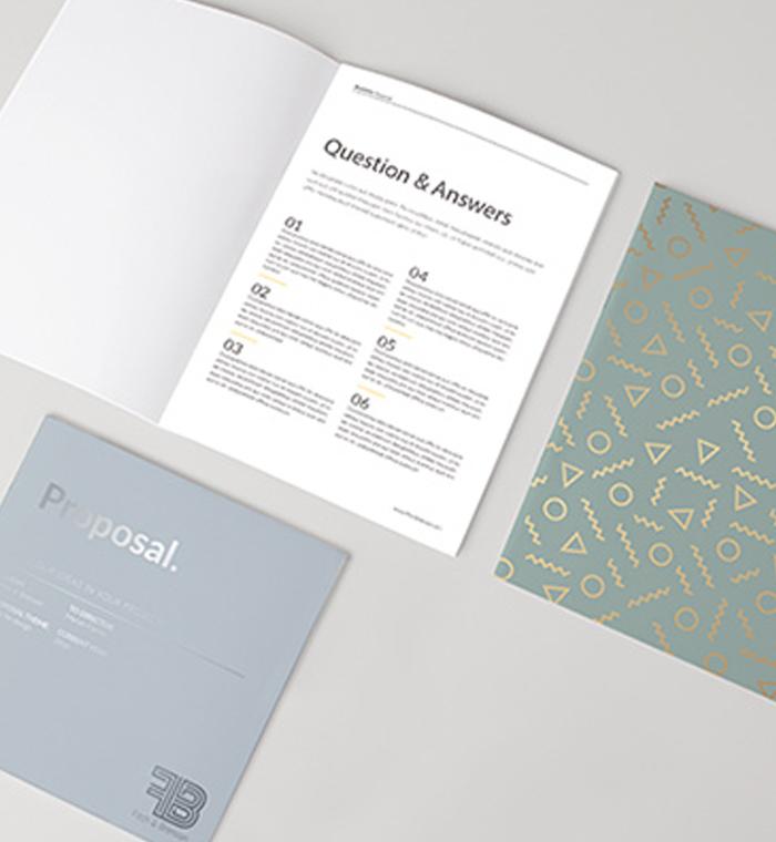 Brochures 700x760